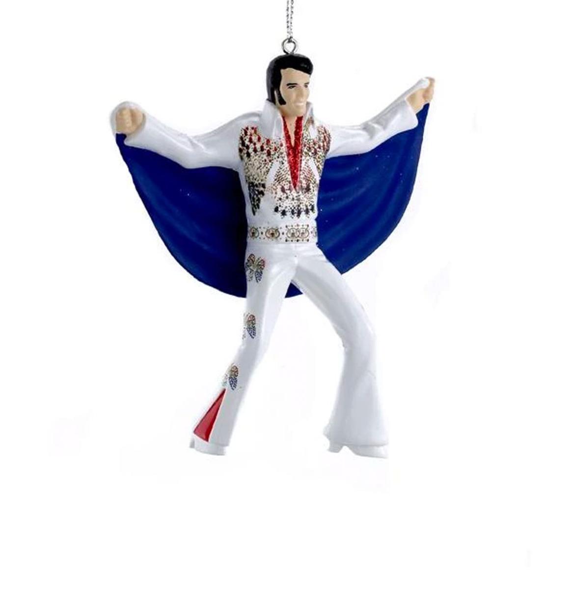 Elvis Presley In Adelaar Pak Met Cape Kerst Ornament