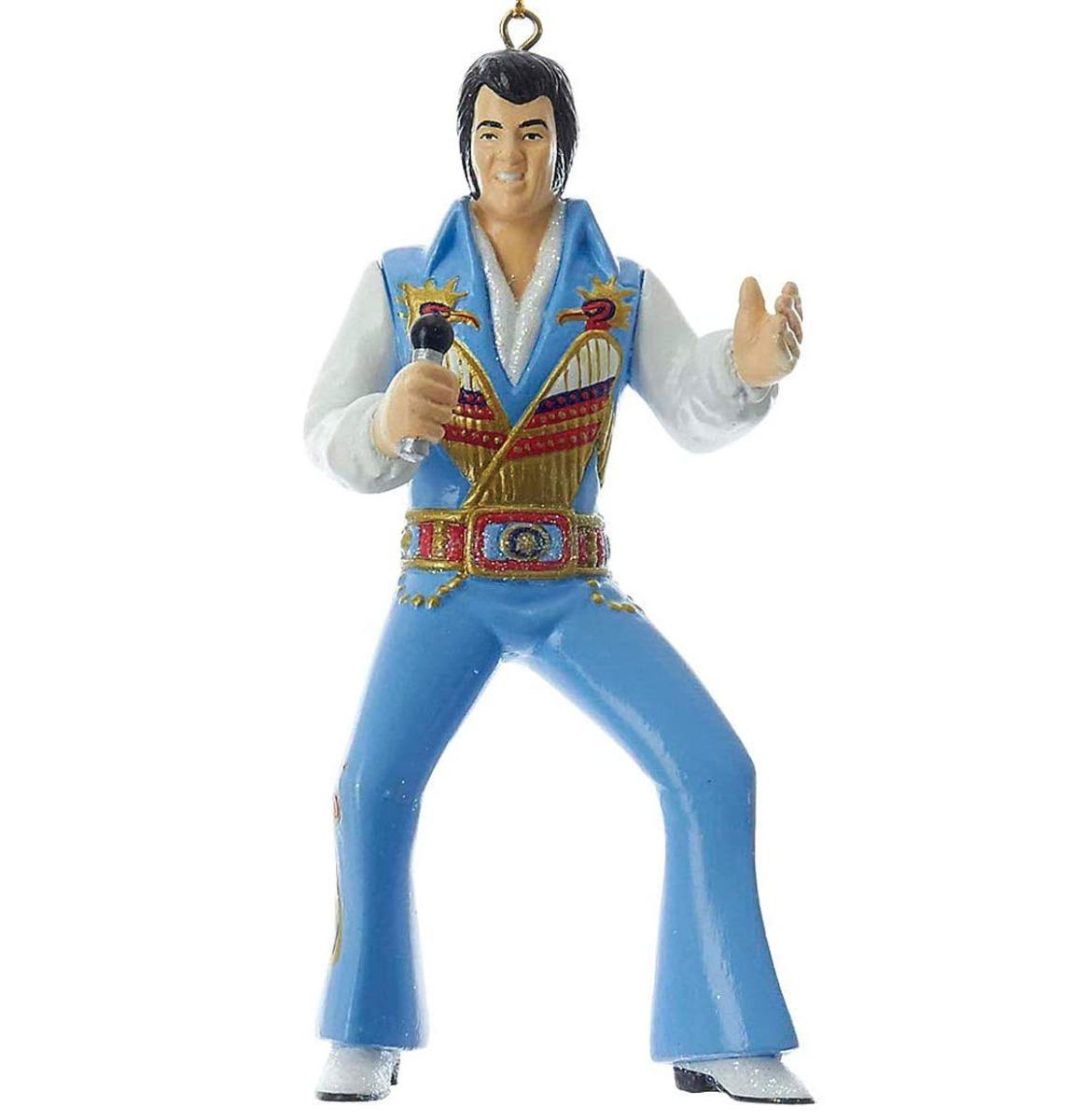 Elvis Presley In Prehistoric Suit Kerst Ornament