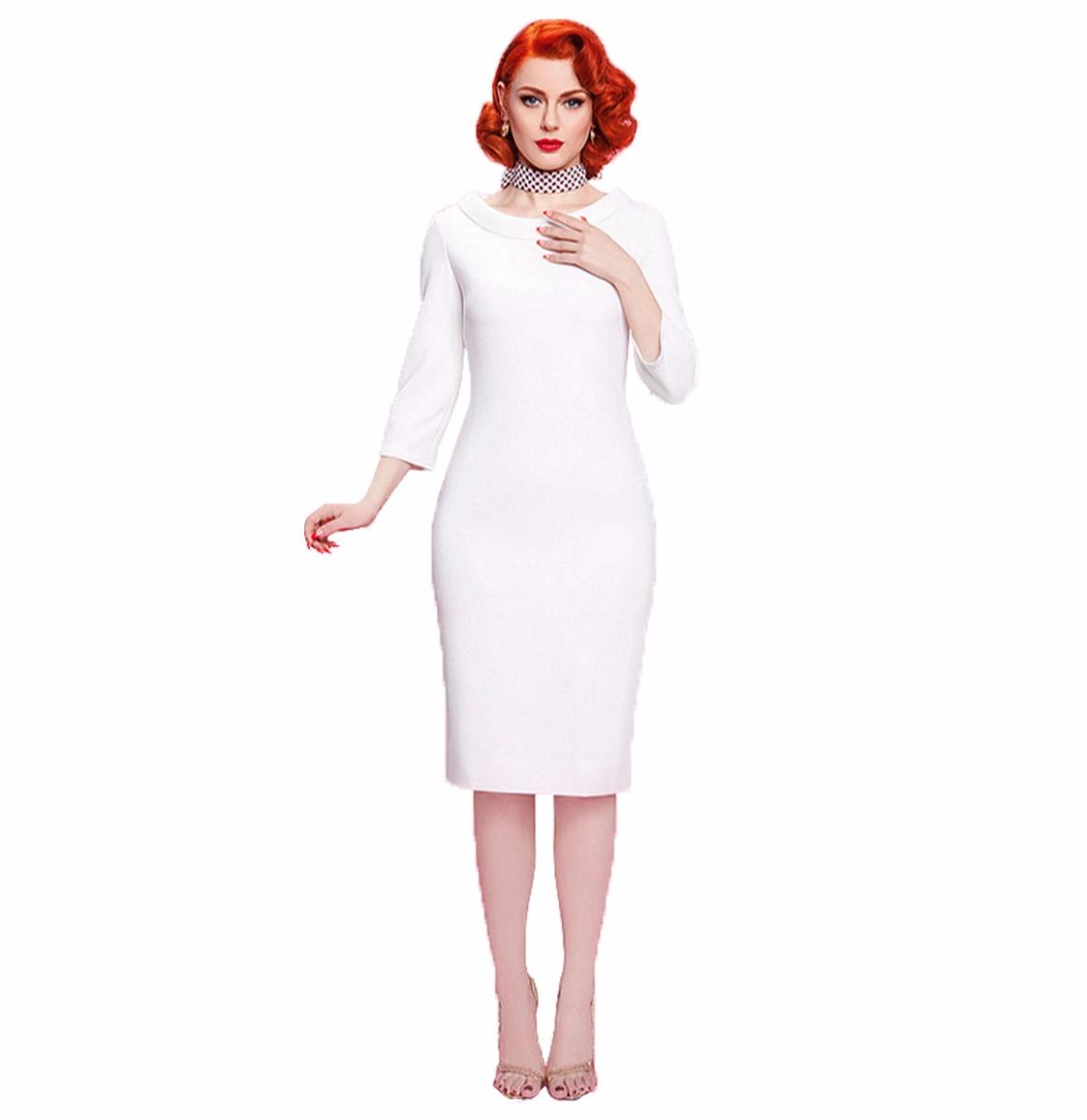 Escapade Dress White