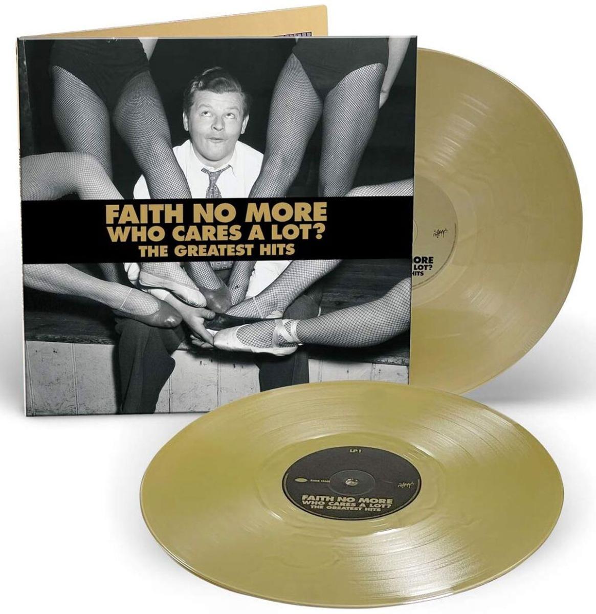 Faith No More - Who Cares A Lot? The Greatest Hits Gelimiteerd Goud Vinyl 2LP