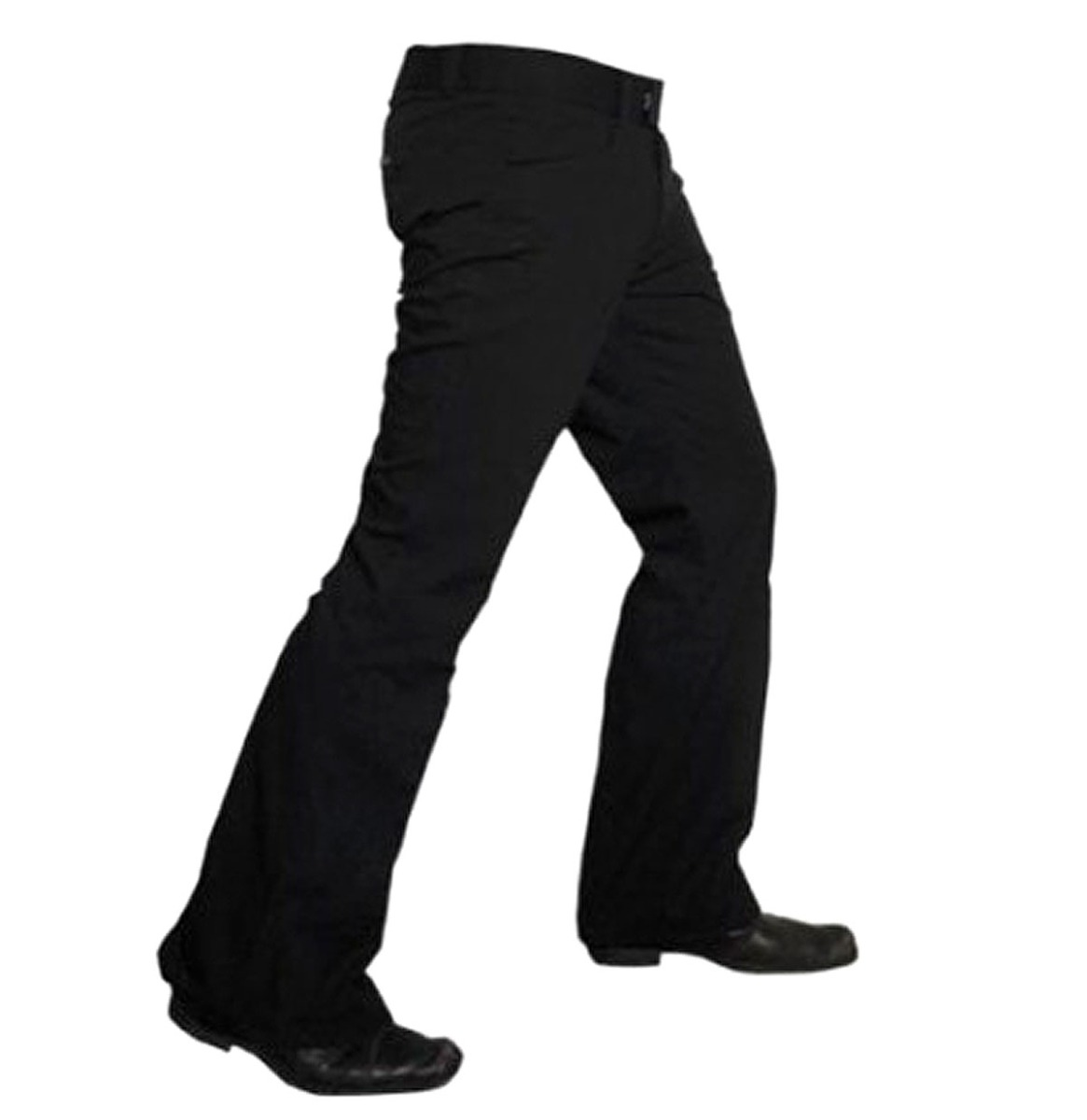 Flair Pantalon Zwart, Heren