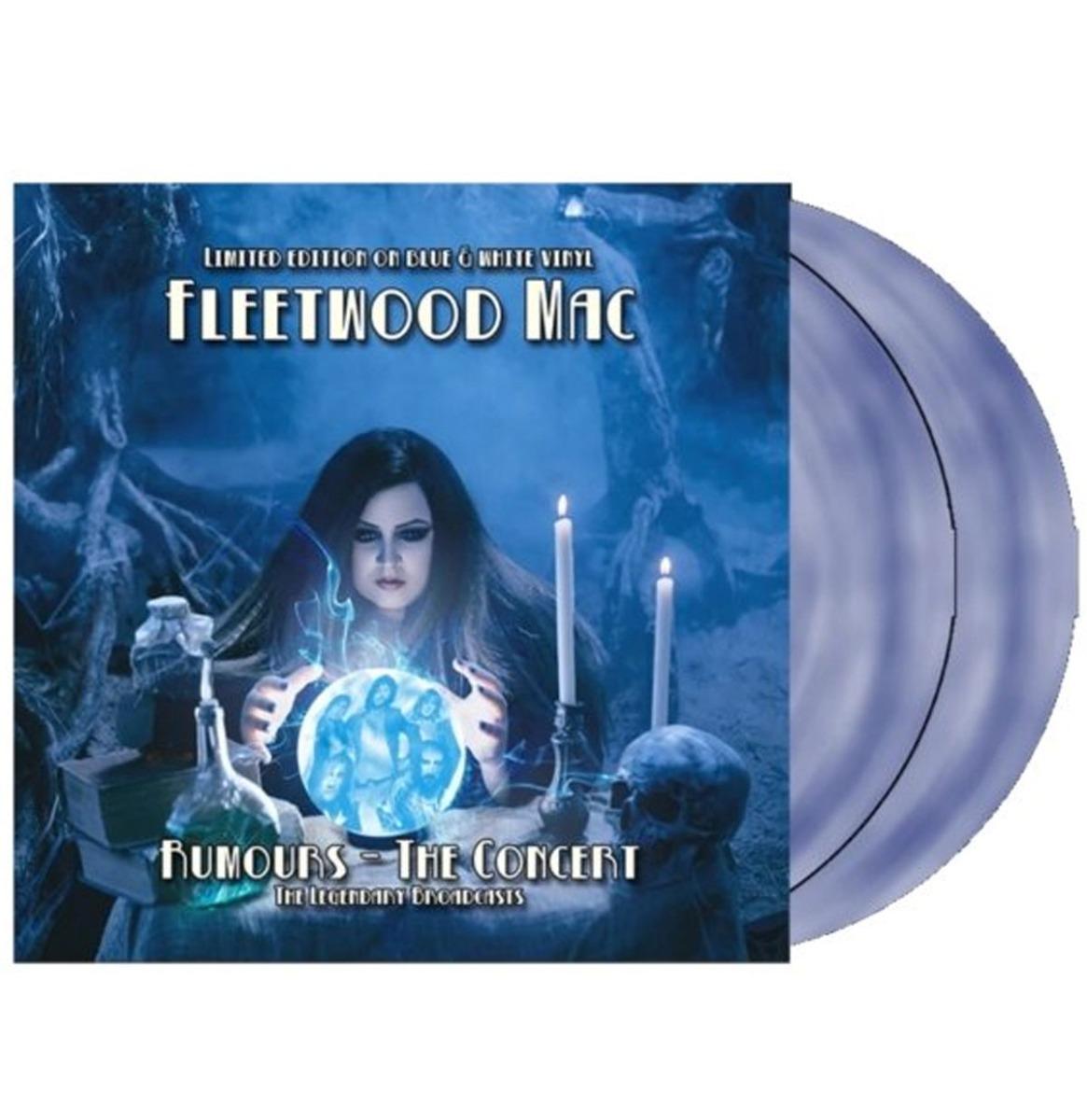 Fleetwood Mac- Rumours The Concert 2 x 10 Inch Blauw /Wit Swirl Vinyl