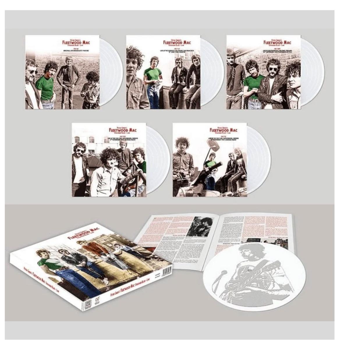 Peter Green's Fleetwood Mac - Stranger Blues Live 5-LP Box Limited Edition