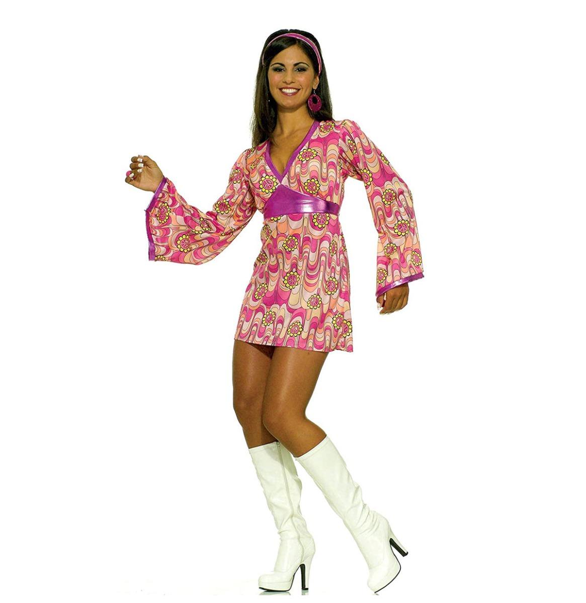 60's Flower Power Dress