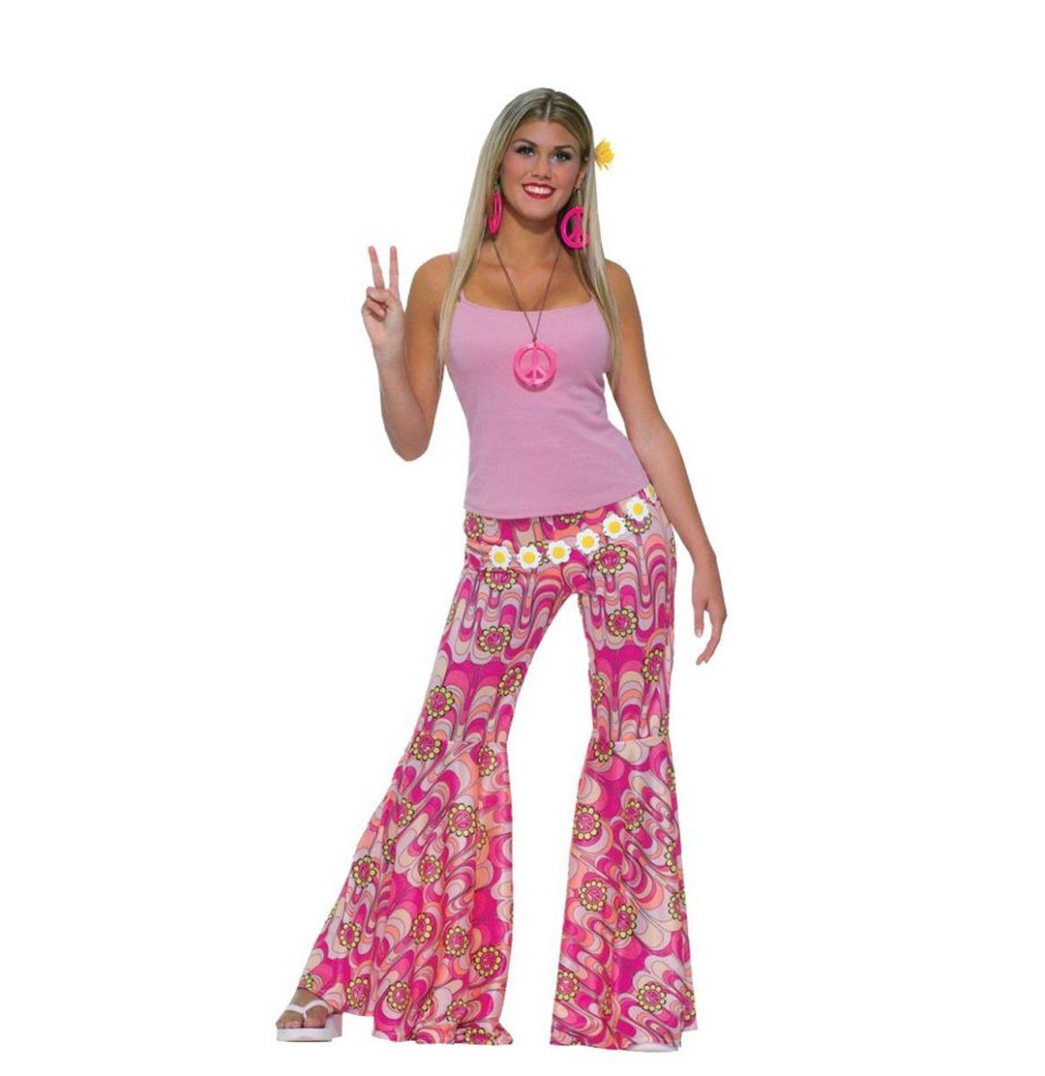 60's Flower Power Pants