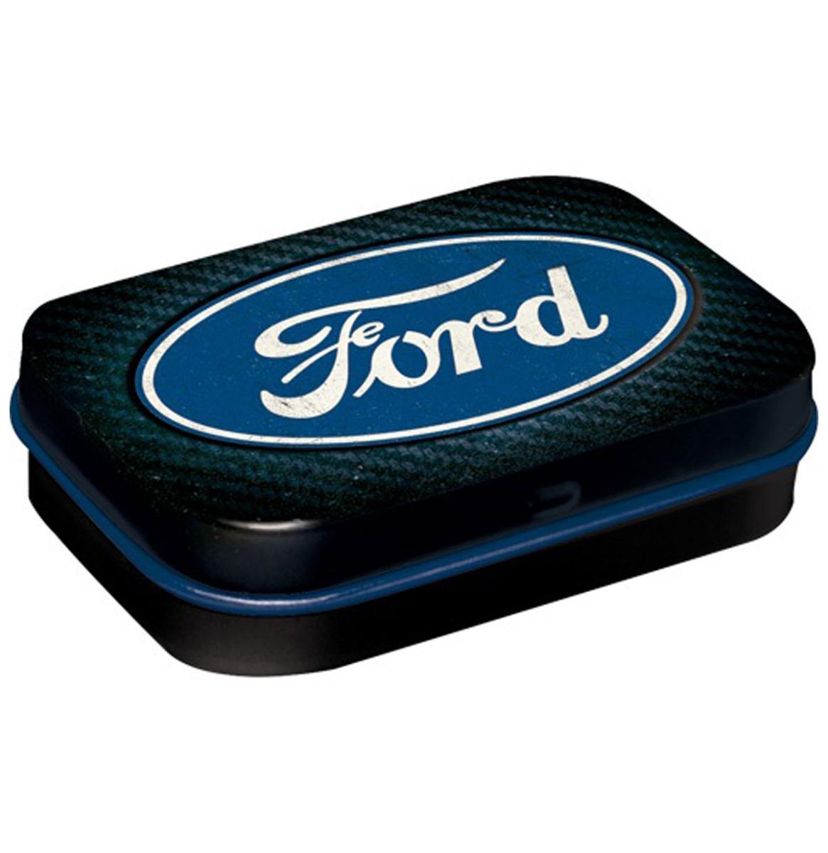 Pepermunt Blik Ford - Logo Blue Shine
