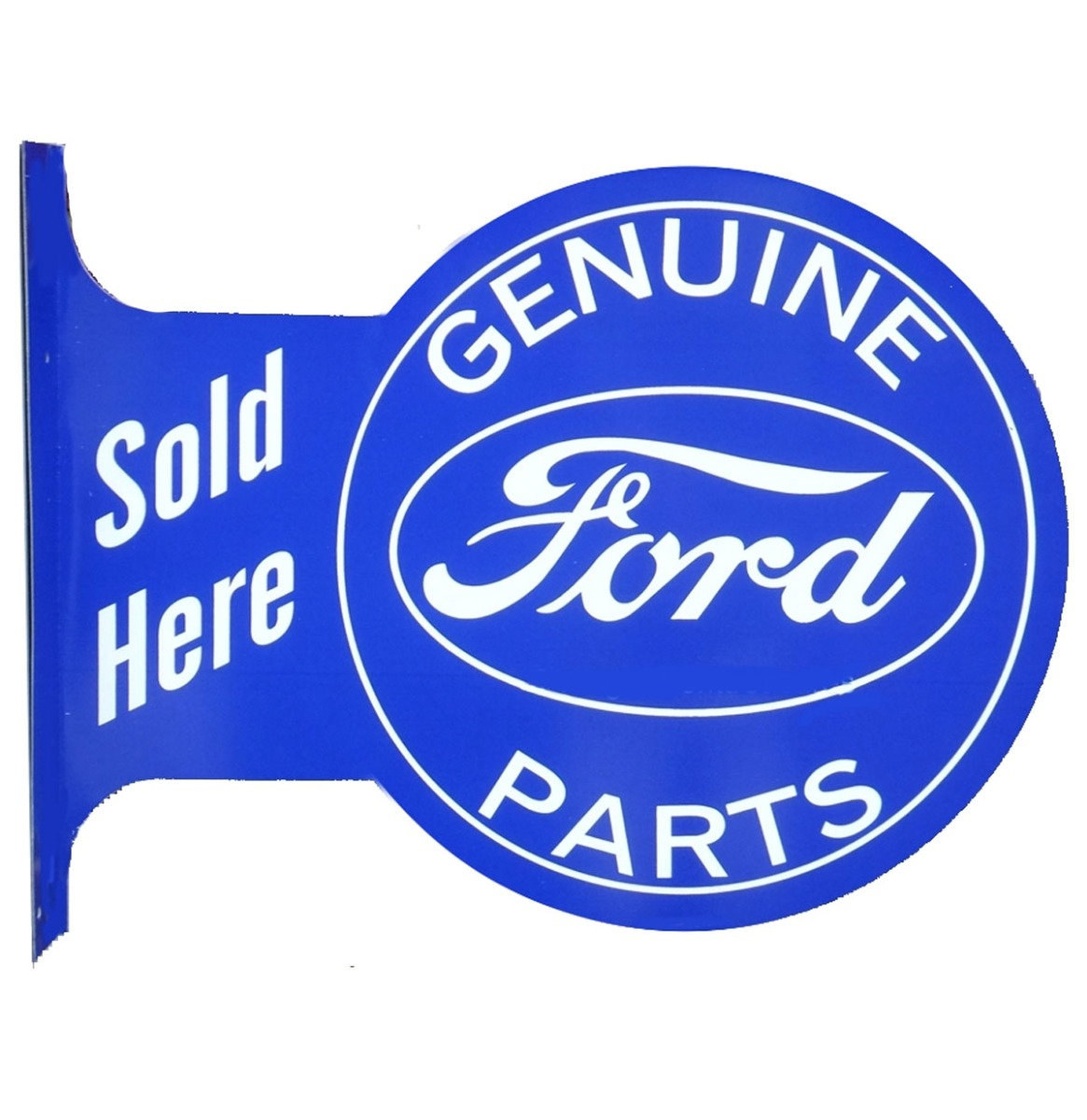 Ford Genuine Parts Sold Here Uithangbord 44,5 x 34,5 cm