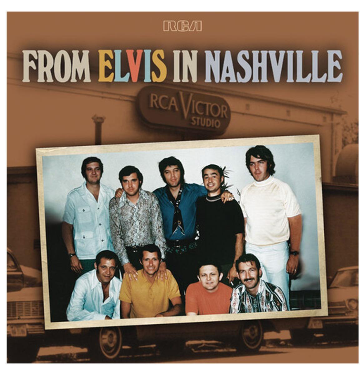 Elvis Presley - From Elvis In Nashville 50th Anniversary 2LP