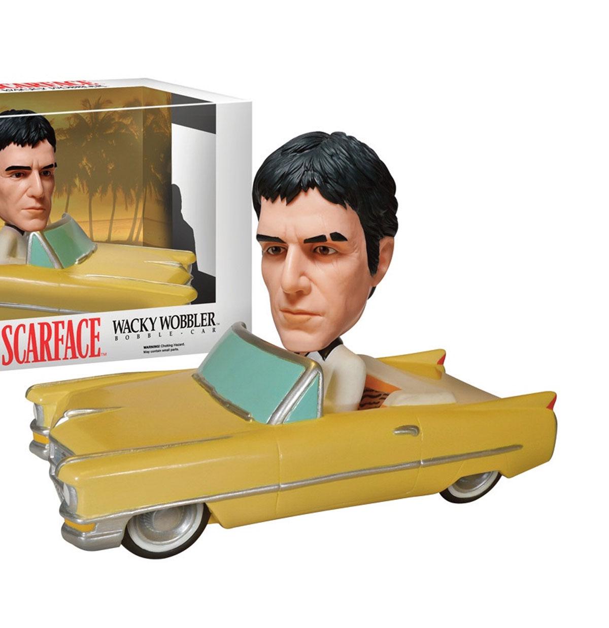 Scarface Tony in '64 Cadillac Convertible Wacky Wobble Rides