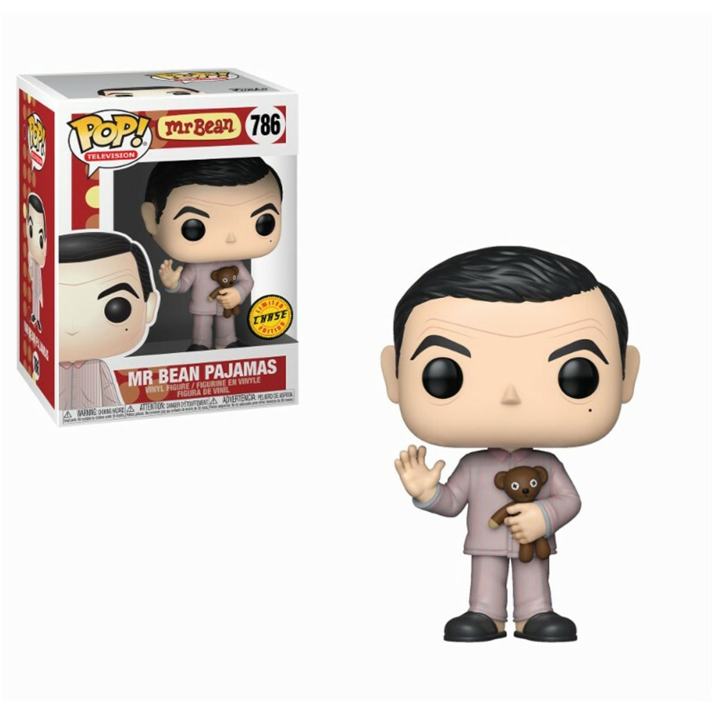 Funko Pop! TV: Mr Bean Pajamas CHASE EDITION