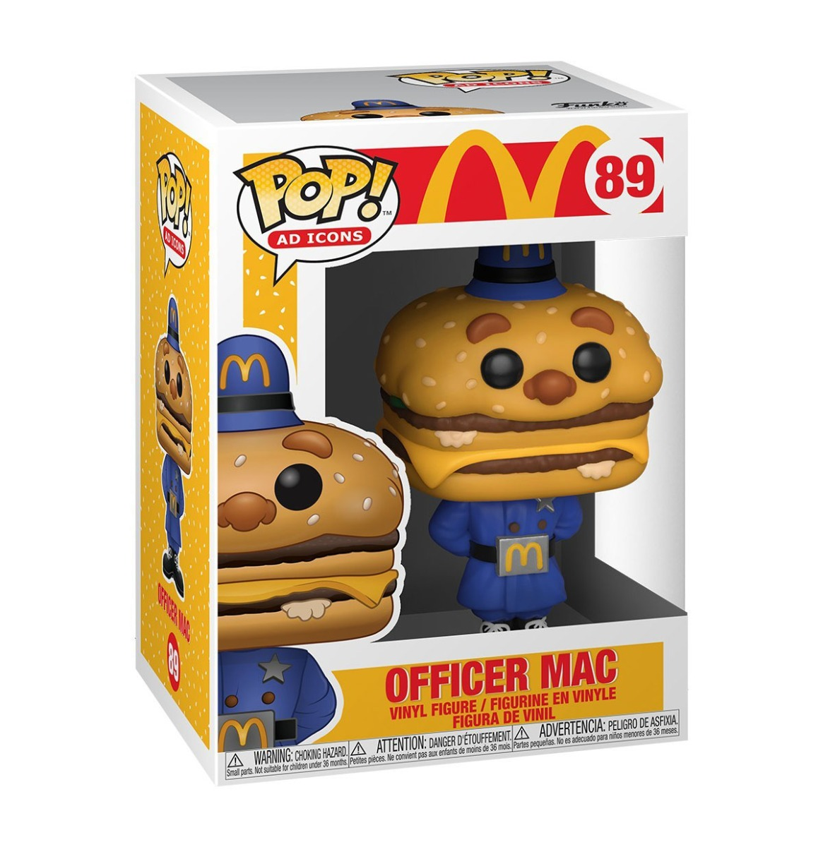 fiftiesstore Pop! Ad Icons: McDonald's - Officer Big Mac