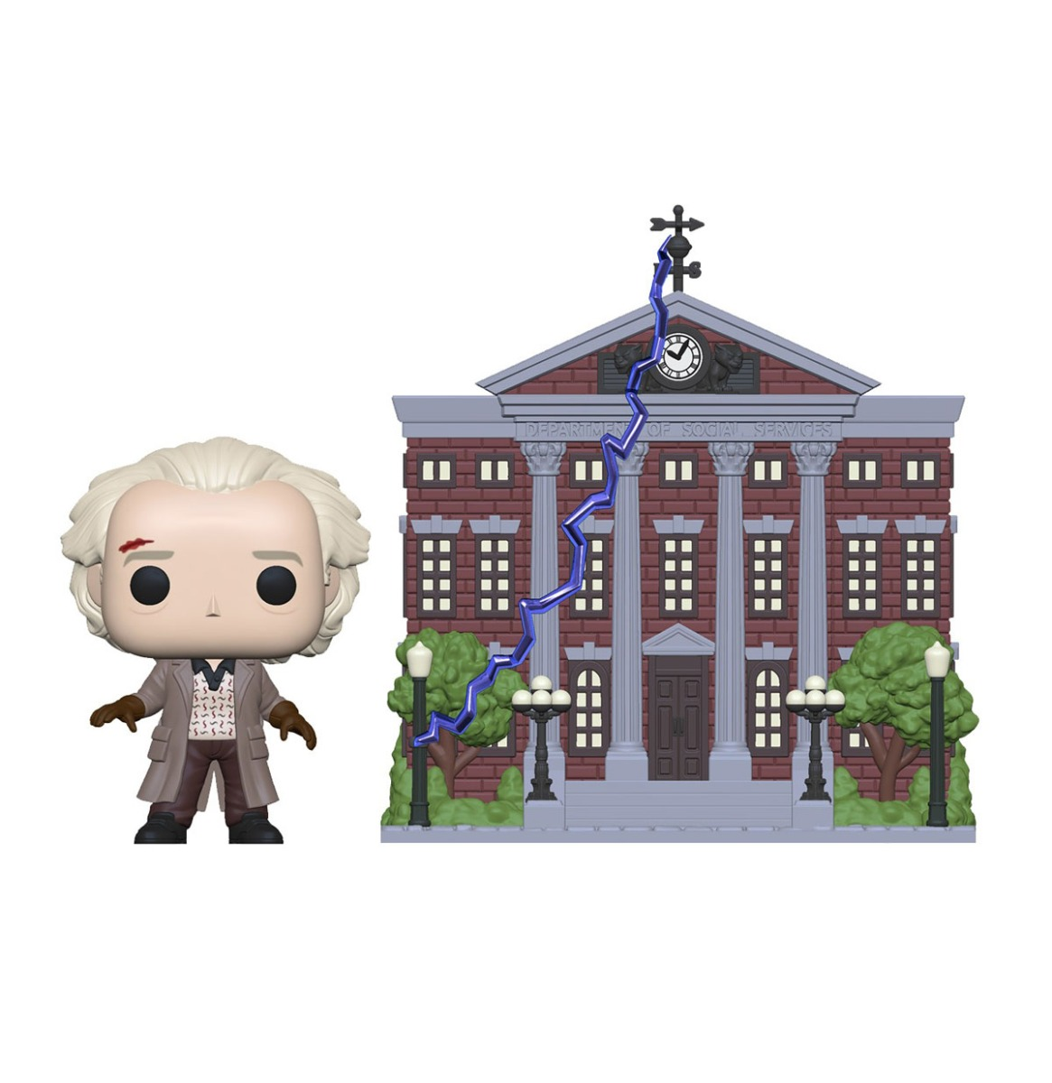 Pop! Town: Back to the Future - Doc with Clock Tower