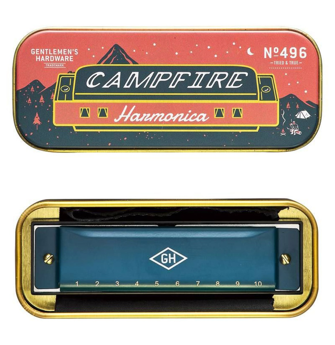 Gentlemen's Hardware Campfire Mondharmonica
