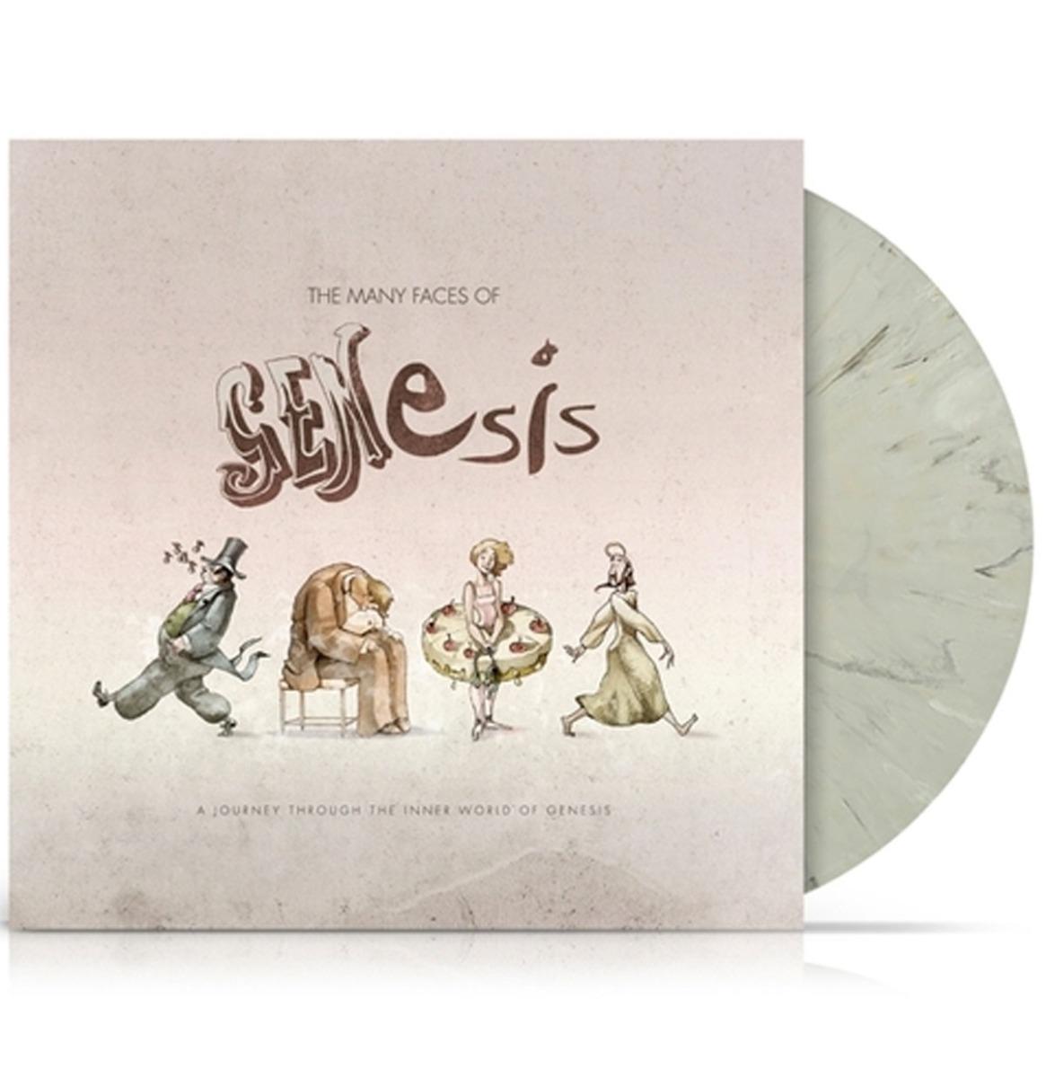 The Many Faces Of Genesis Gelimiteerde Oplage Gekleurd Vinyl 2LP