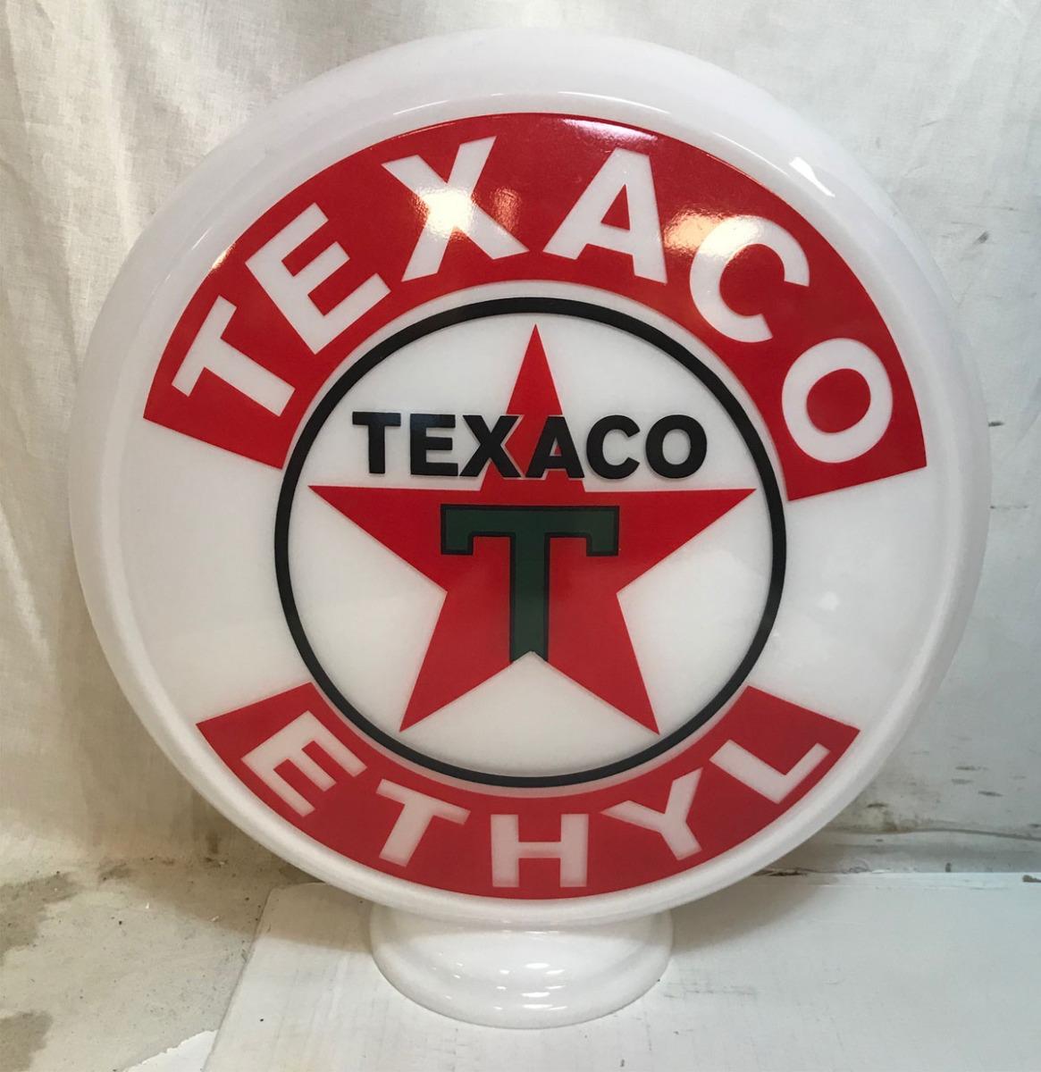 Benzinepomp Bol Texaco Ethyl - Glas
