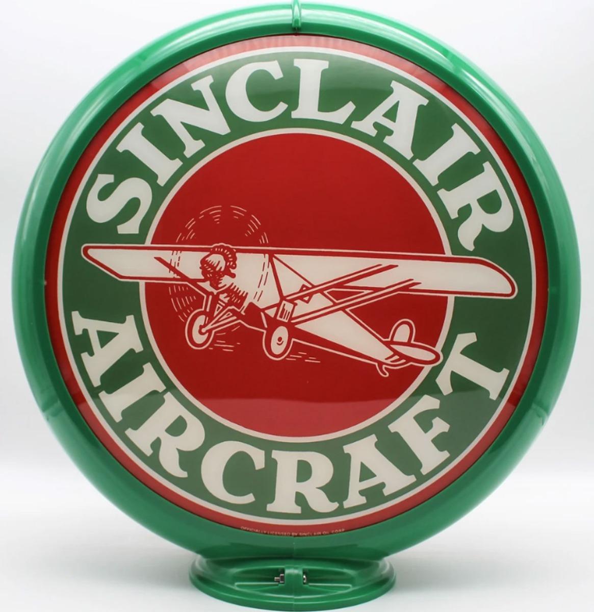 Sinclair Aircraft Benzinepomp Bol