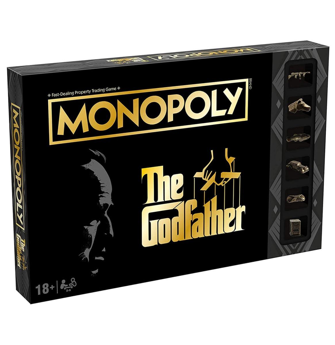 Officiele Godfather Editie Monopoly