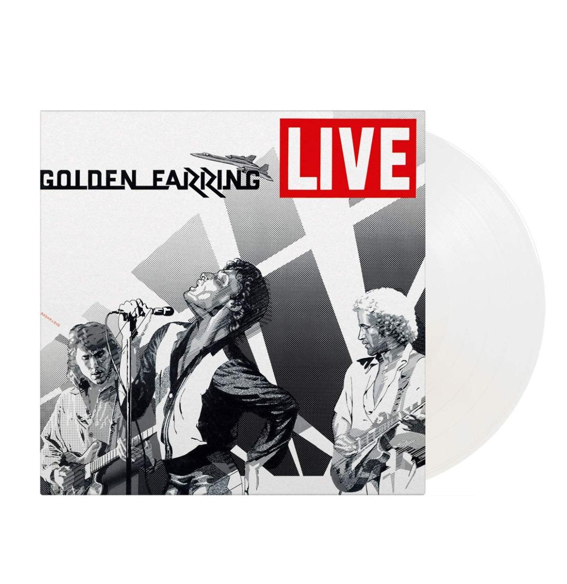 Golden Earring - Live Limited Edition White Vinyl 2 LP