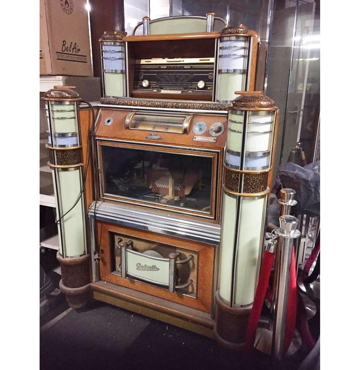 Discophone Goliath Jukebox - Origineel Belgie 1948-56