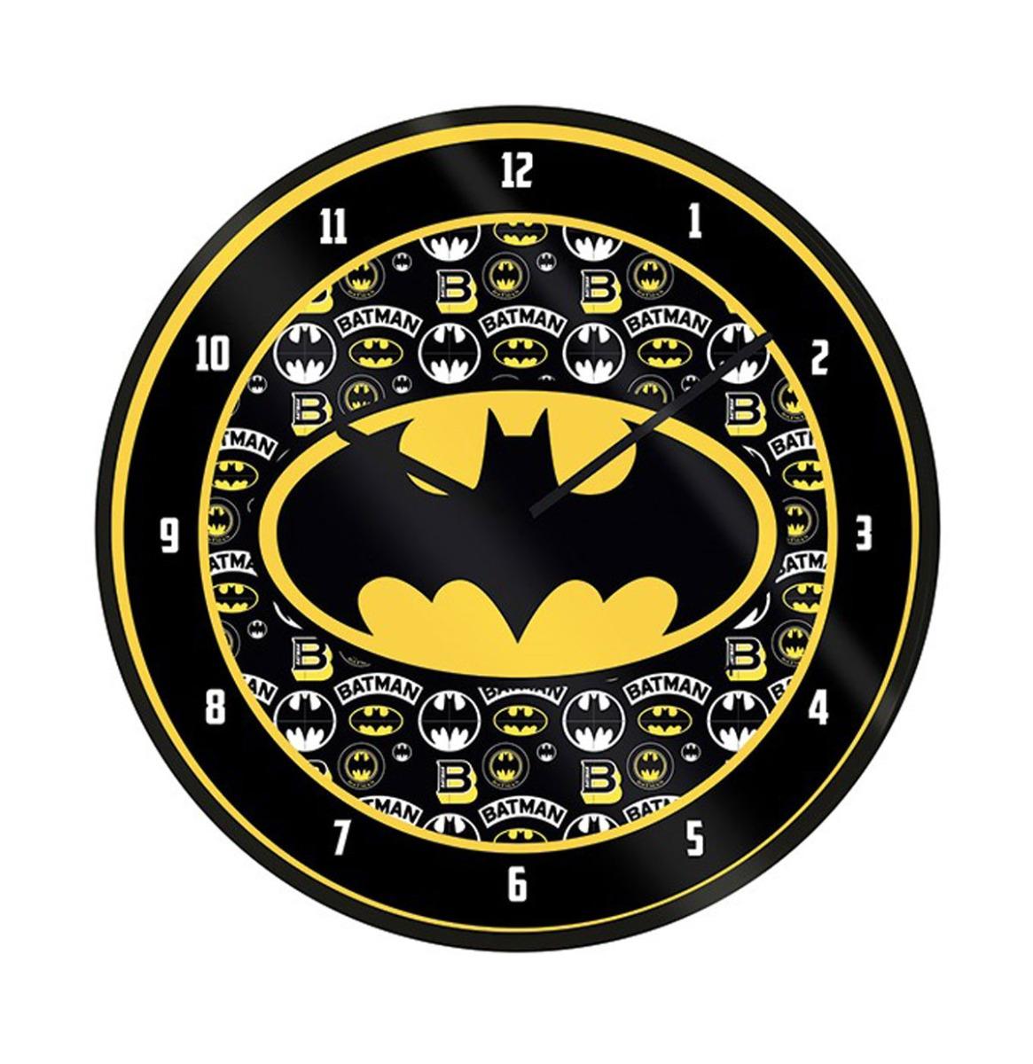 DC Comics: Batman Logo 10 inch Klok