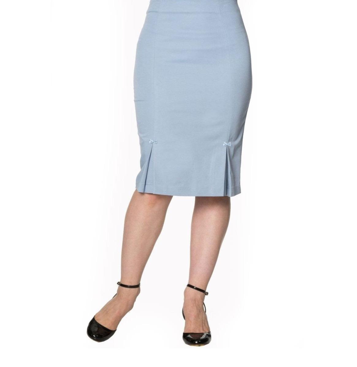 Guideing Light Skirt Zacht Blauw