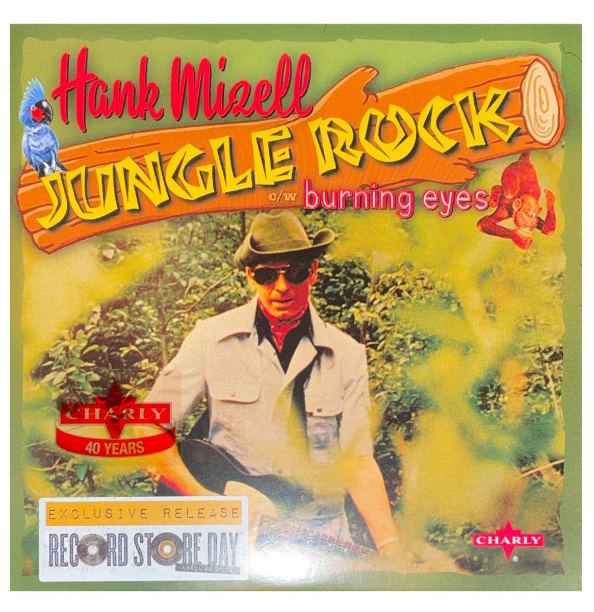 Single: hank Mizell - Jungle Rock / Burning Eyes RSD 2014