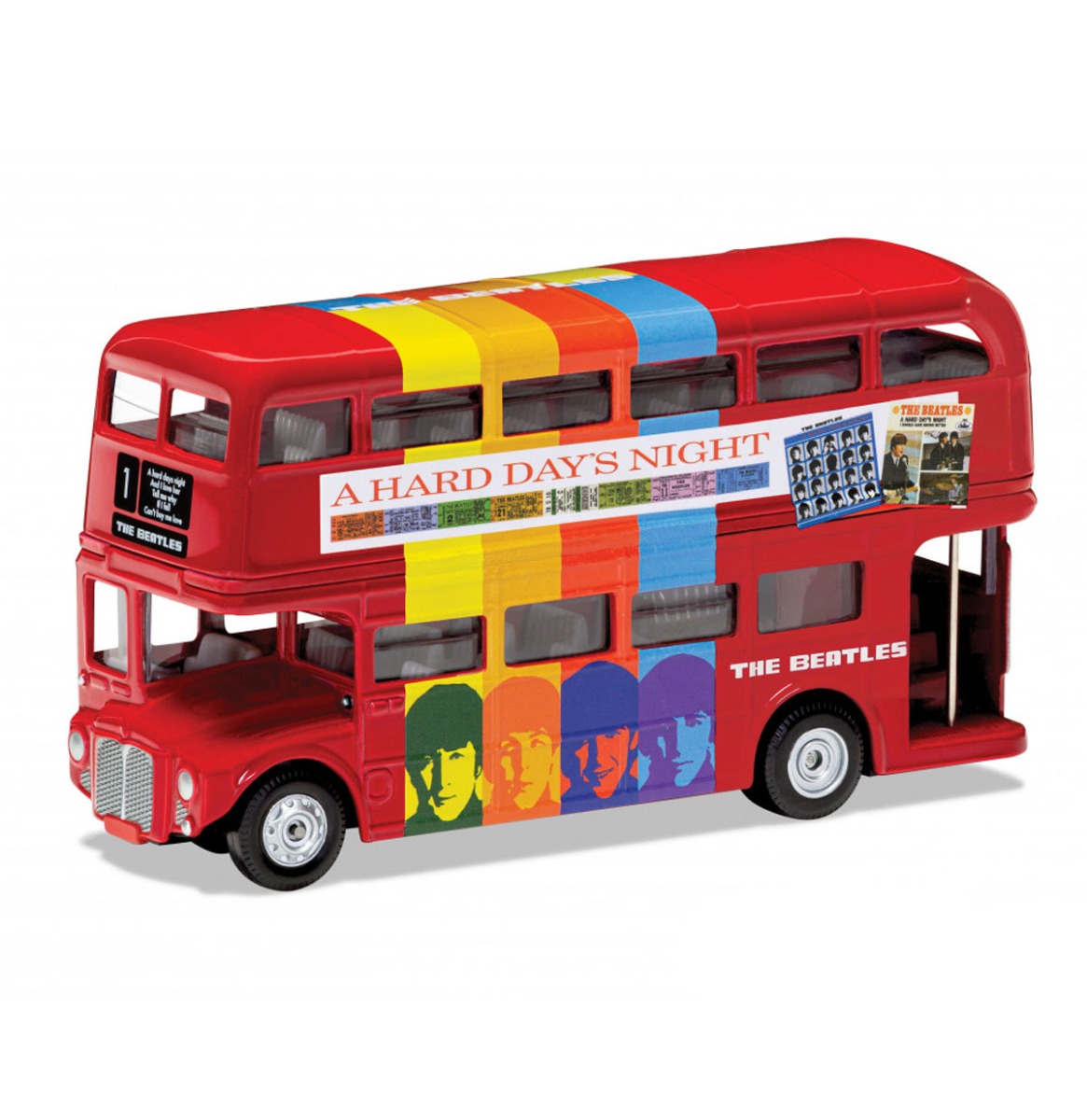 The Beatles - A Hard Days Night London Bus Die-Cast 1:64 Corgi