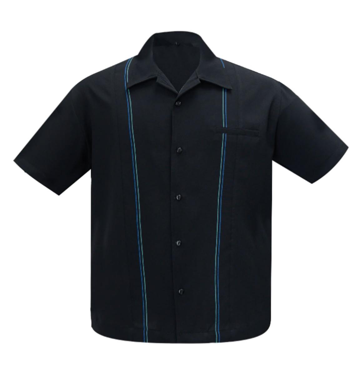 Steady Clothing The Harold Shirt Black