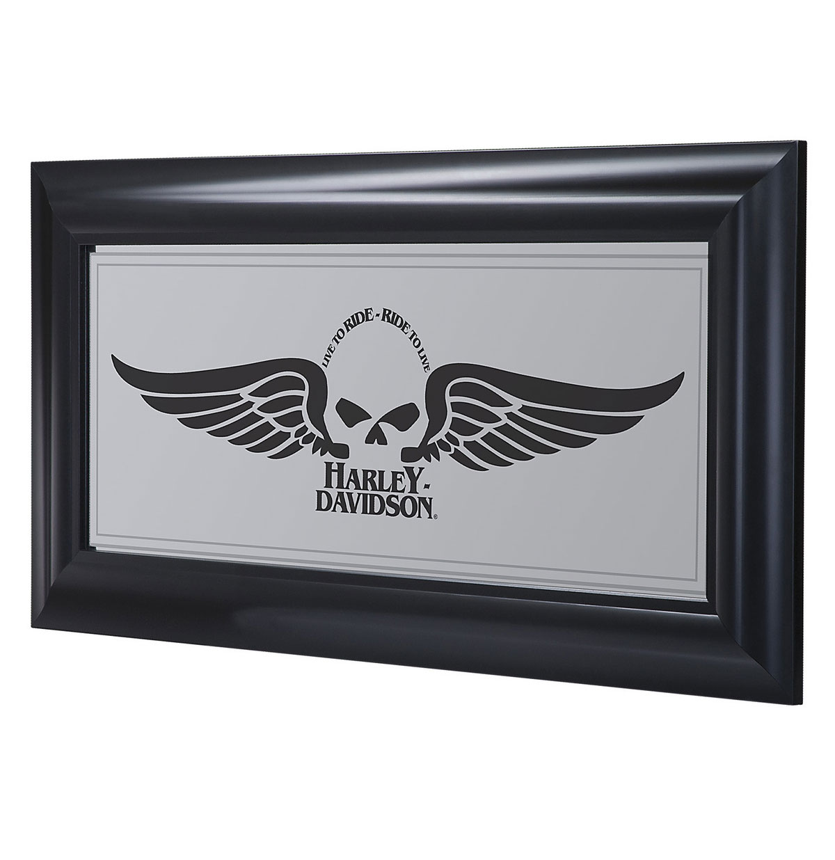 Harley-Davidson Winged Skull Spiegel