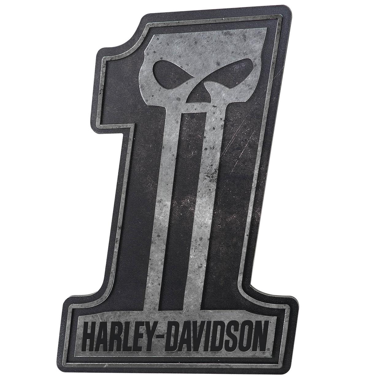 Harley-Davidson #1 Skull Bar Bord