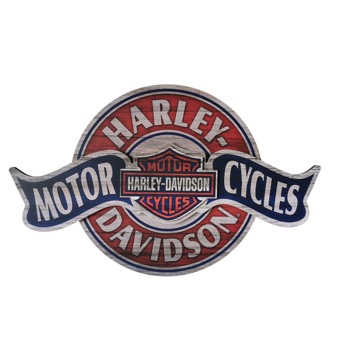 Harley-Davidson Motorcycles Banner Bord