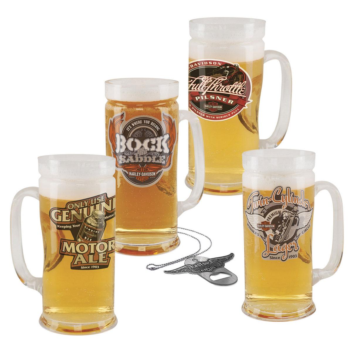 Harley-Davidson Roadhouse Brew Pub Set + Flessen opener - LAATSTE KANS