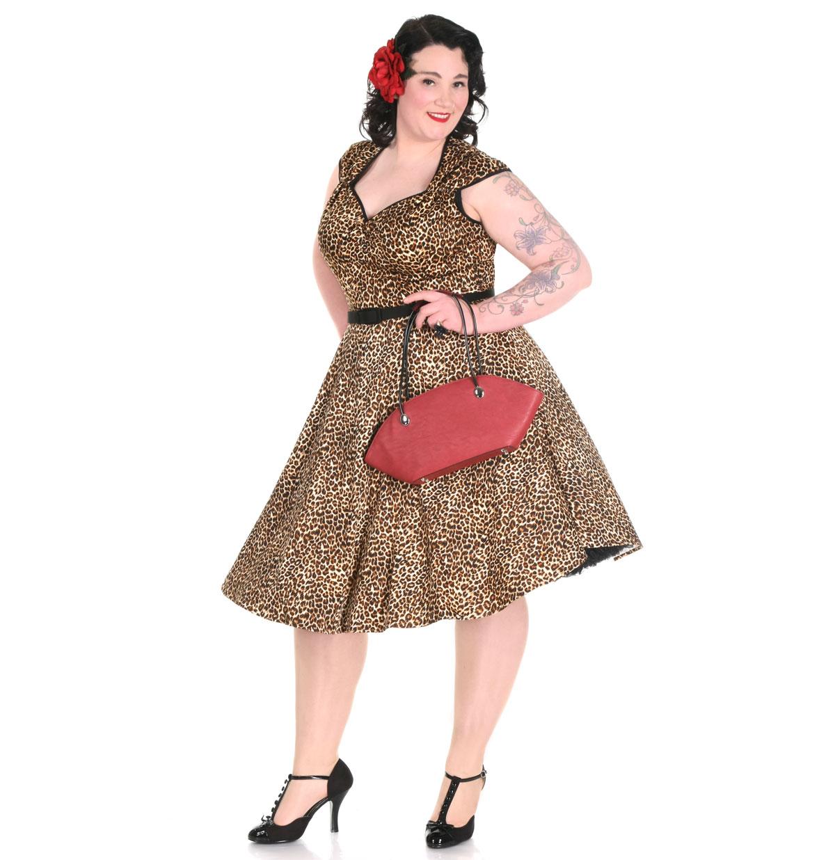 Heidi Dress, Leopard