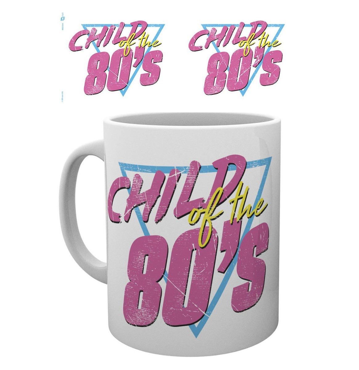 Retro Chic: Child of the 80's Beker