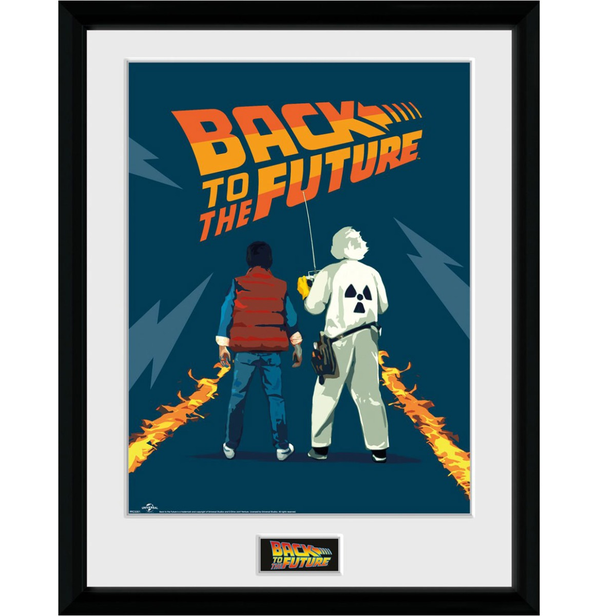 Back to the Future: Doc and Marty Collector Afdruk