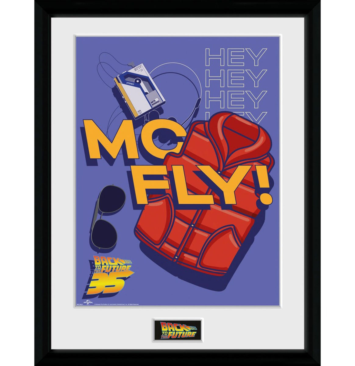 Back to the Future: 35th Anniversary McFly 30 x 40 cm Collector Afdruk