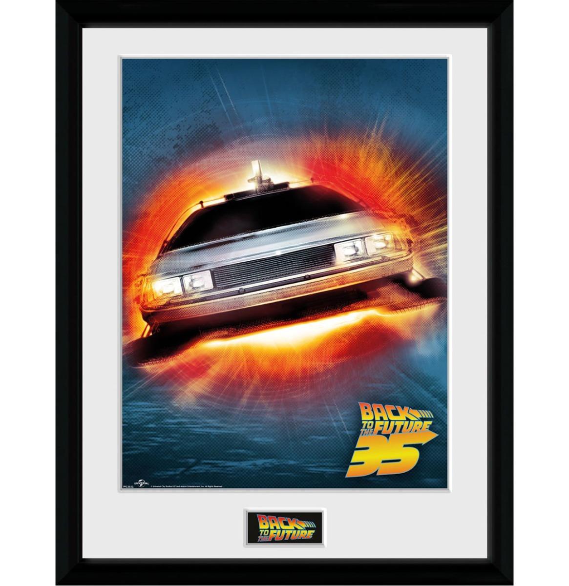 Back to the Future: 35th Anniversary Delorean 30 x 40 cm Collector Afdruk