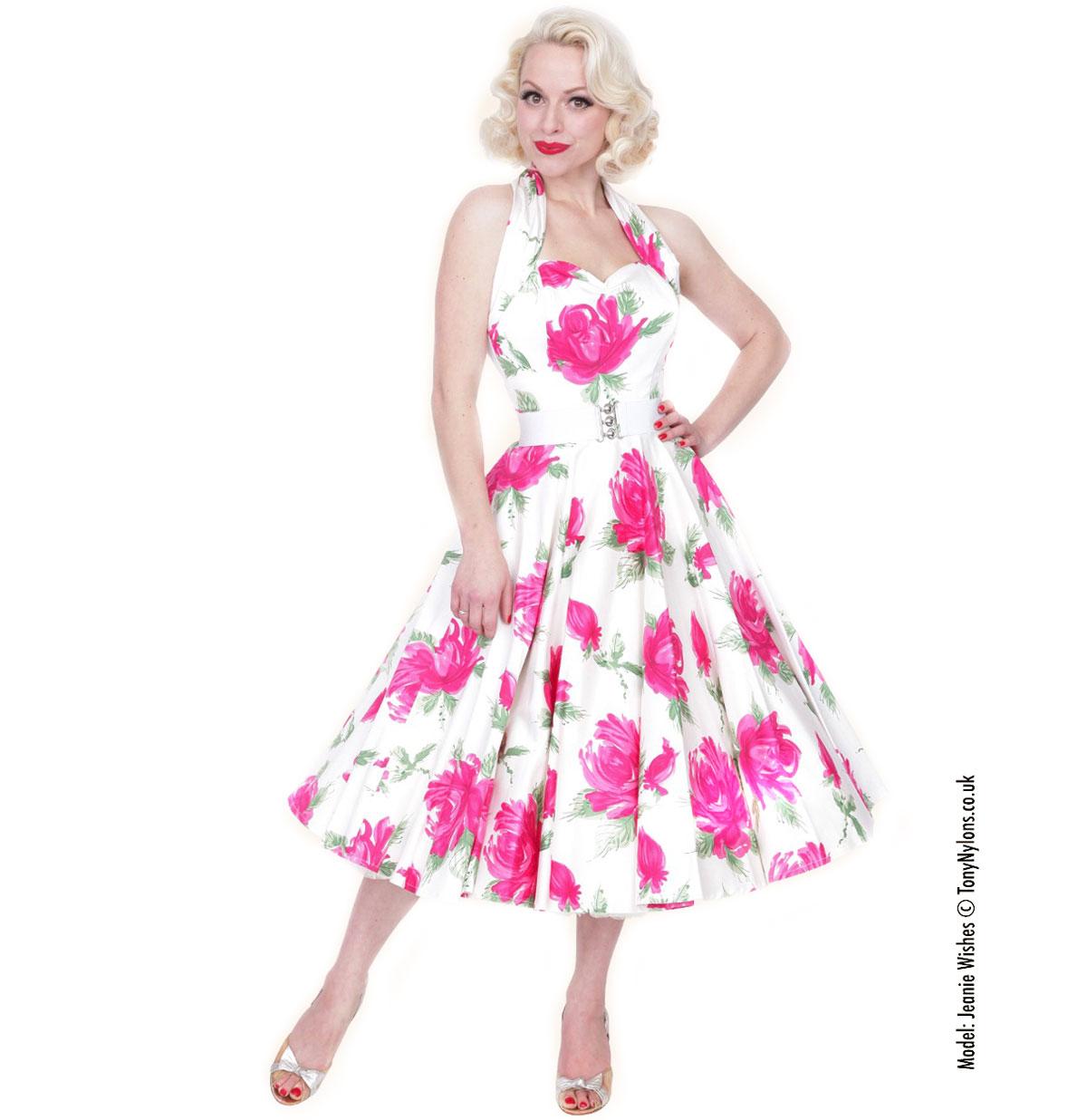 Victory Rose Dress Cerise
