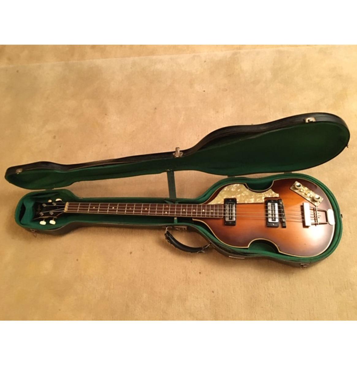 Hofner 1964 Bass Gitaar Zelfde Model Als The Beatles Paul McCartney