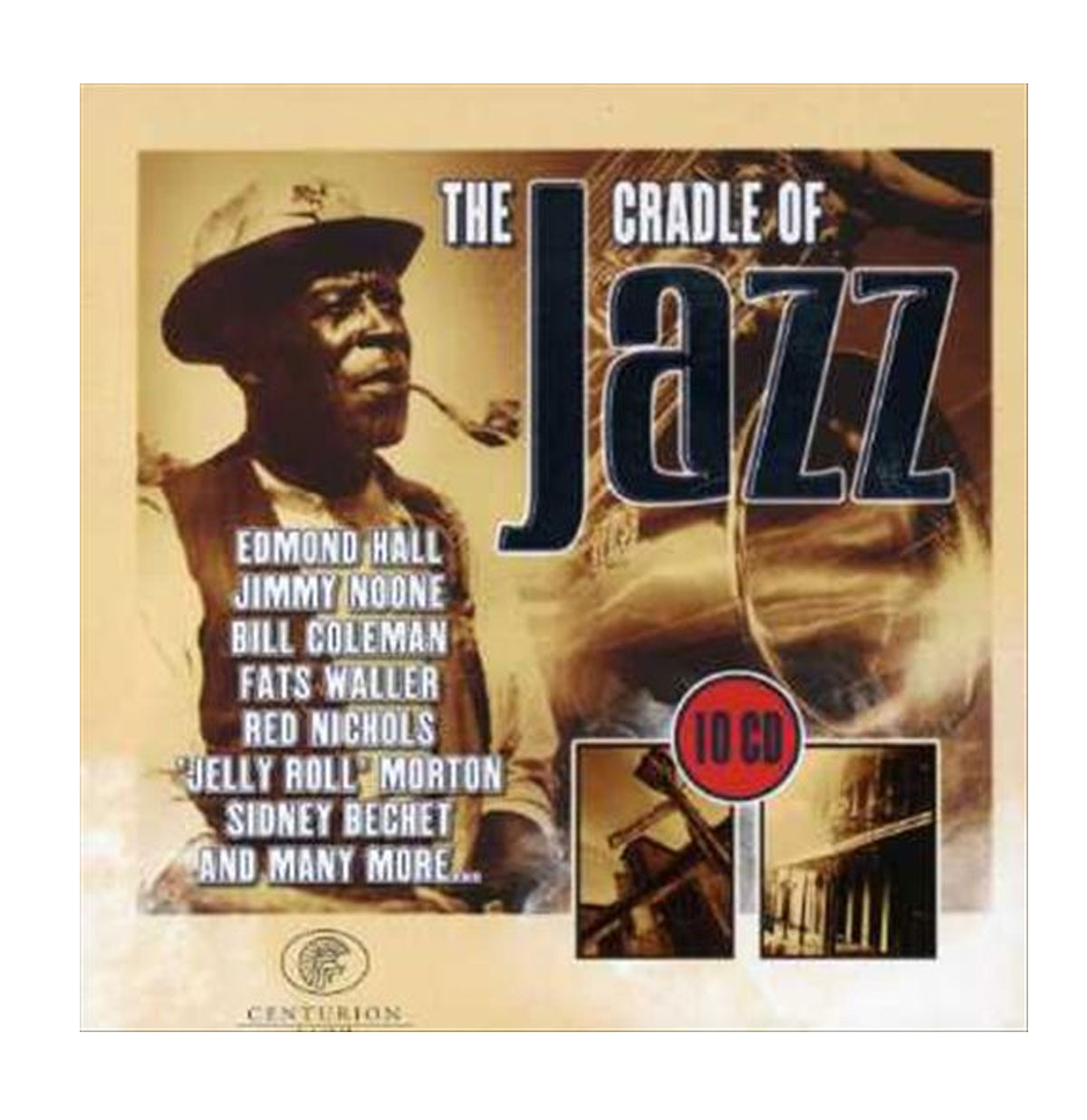 Various Artists The Cradle of Jazz 10CD