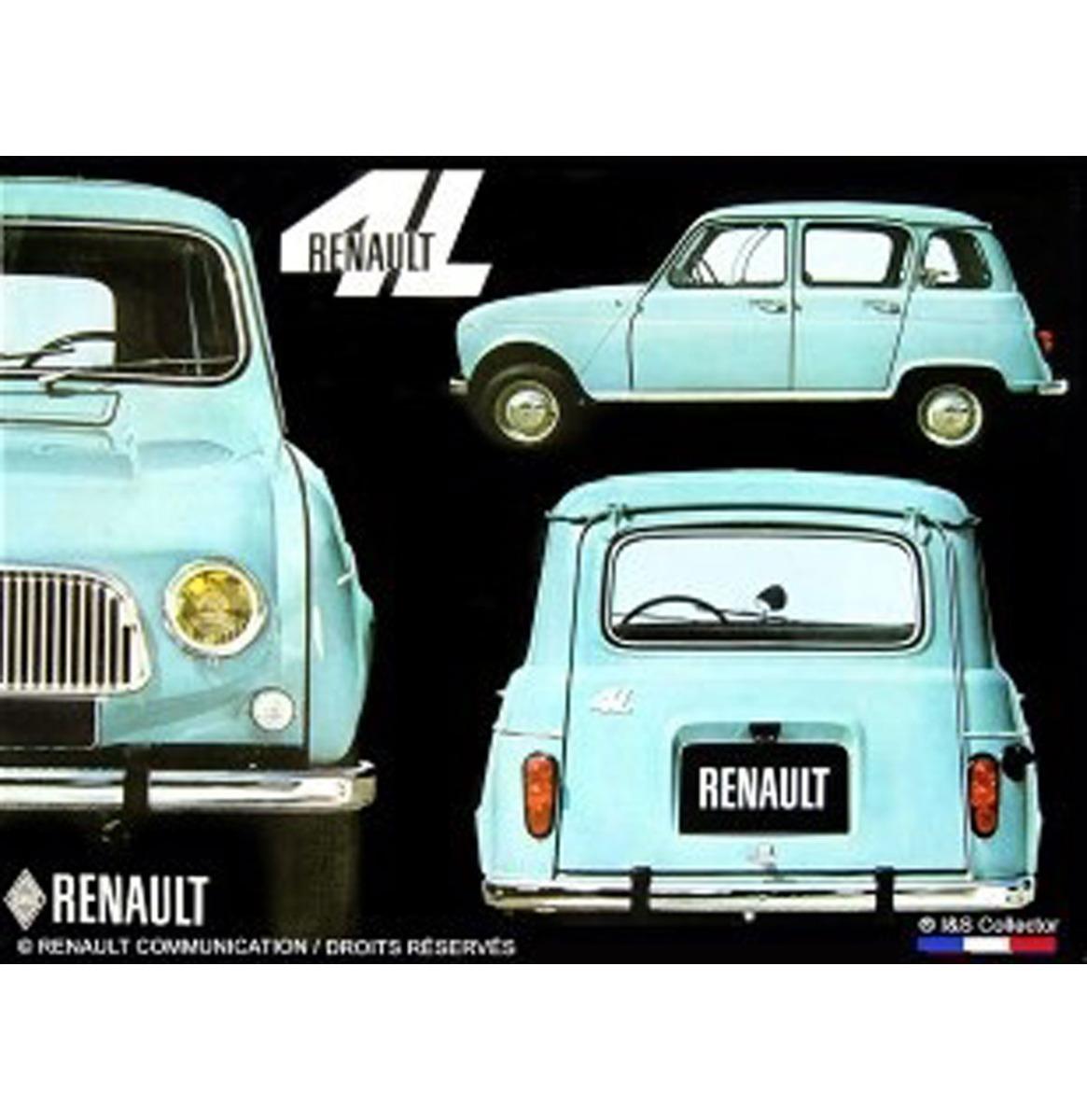 Metalen Bord 30x40 Renault 4L R