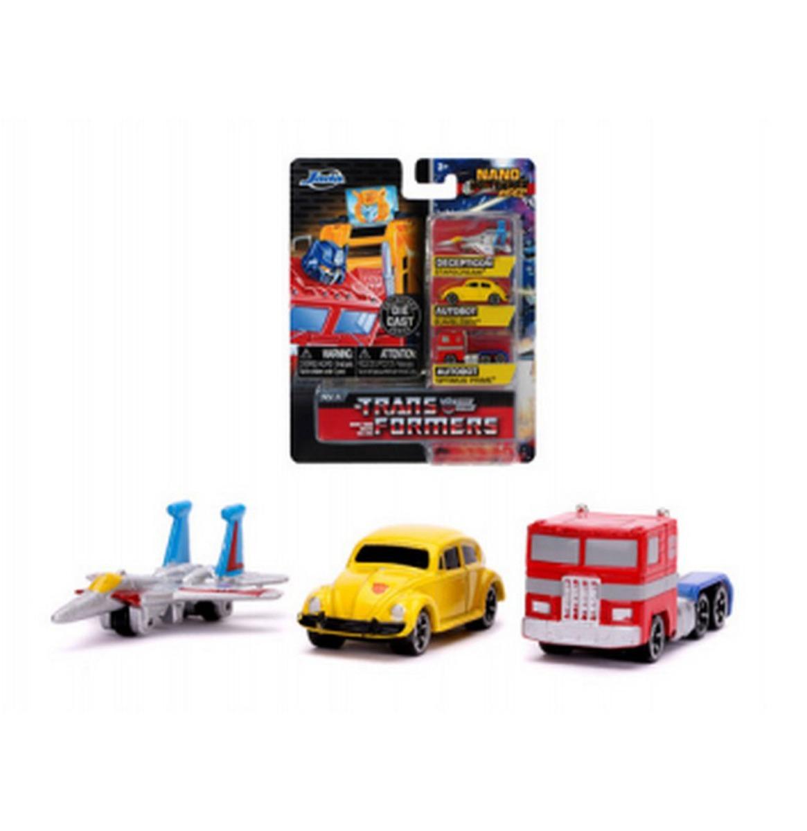 Transformers: Nano Cars Set Van 3 B