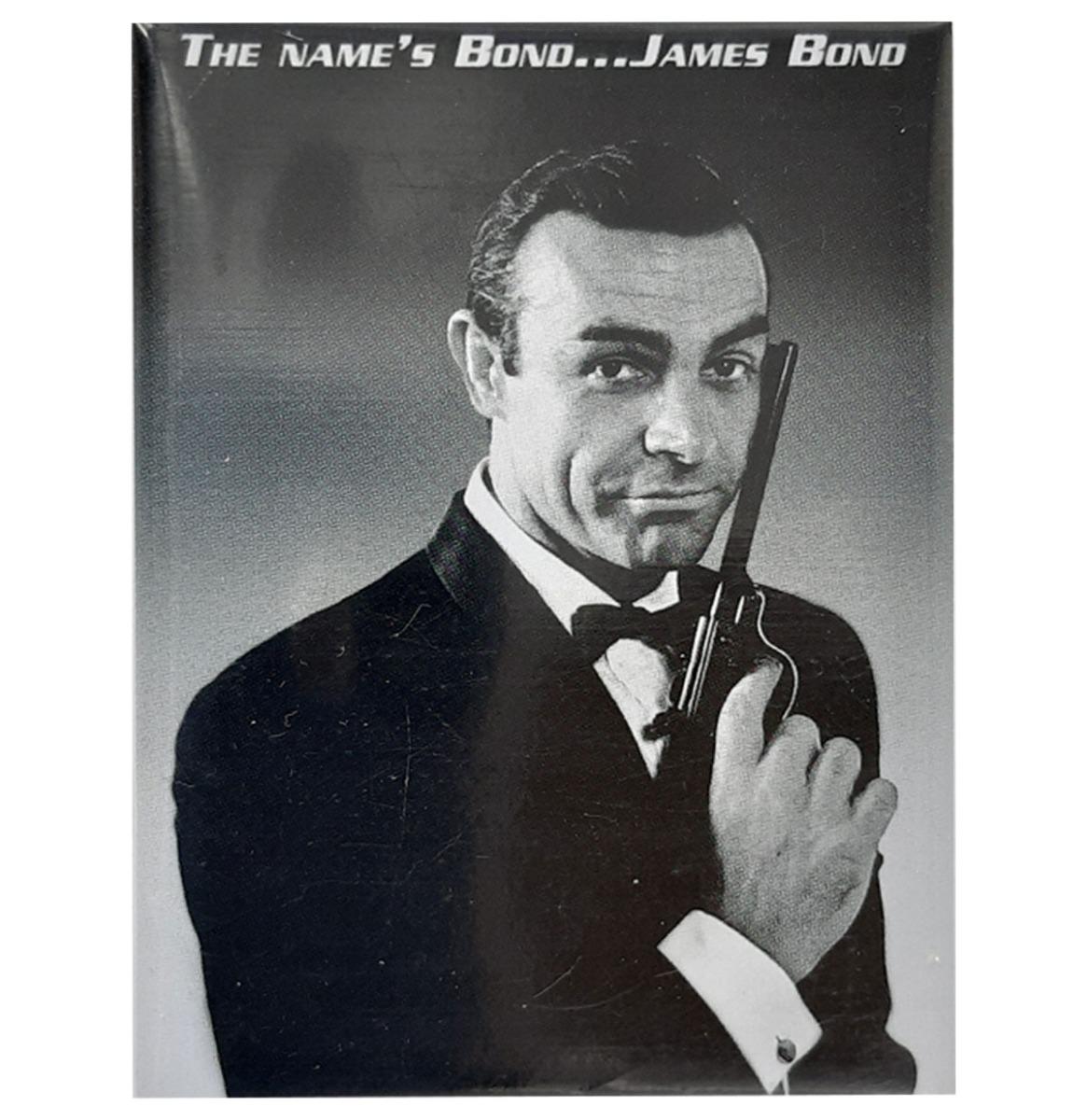 The Name's Bond ... James Bond Magneet