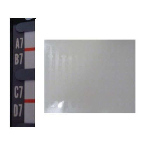 Wurlitzer 2000 - 2100 stickers letters en nummers op bladzijden
