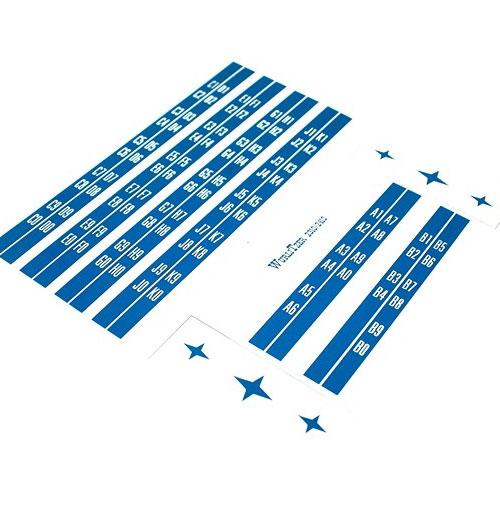 Wurlitzer 2310 - 2410 stickers titelkaart bordjes