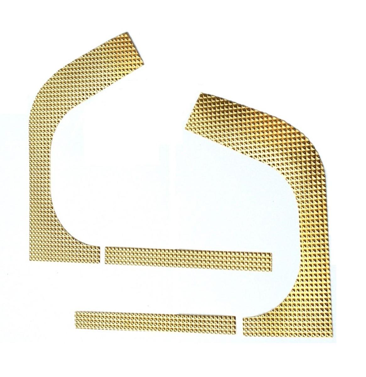 Wurlitzer 1900 t/m 2104 Gouden Folie Voor Binnen Zijkanten Kabinet