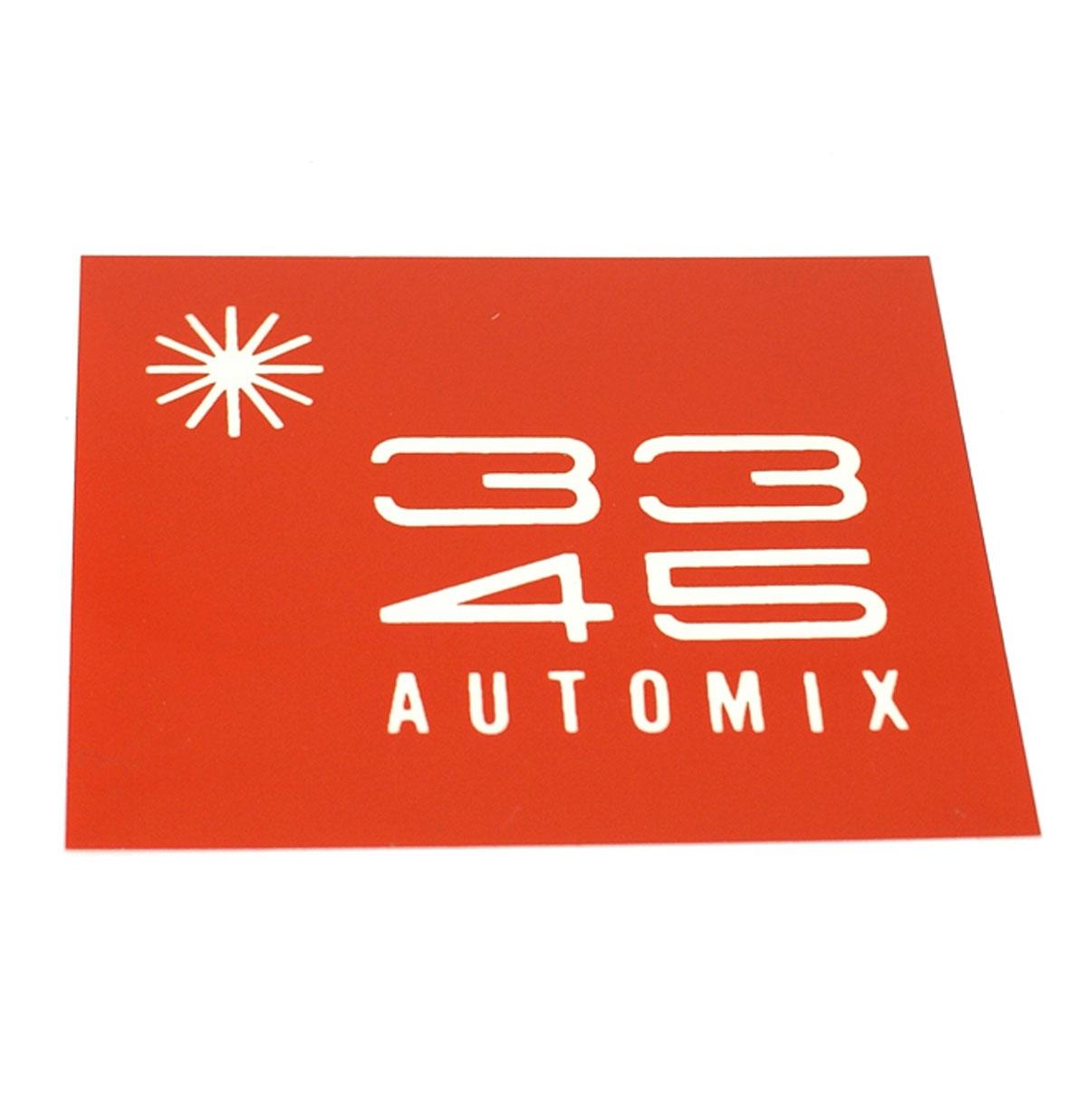 Ami Continental 2 Kaartje Automix 33 45