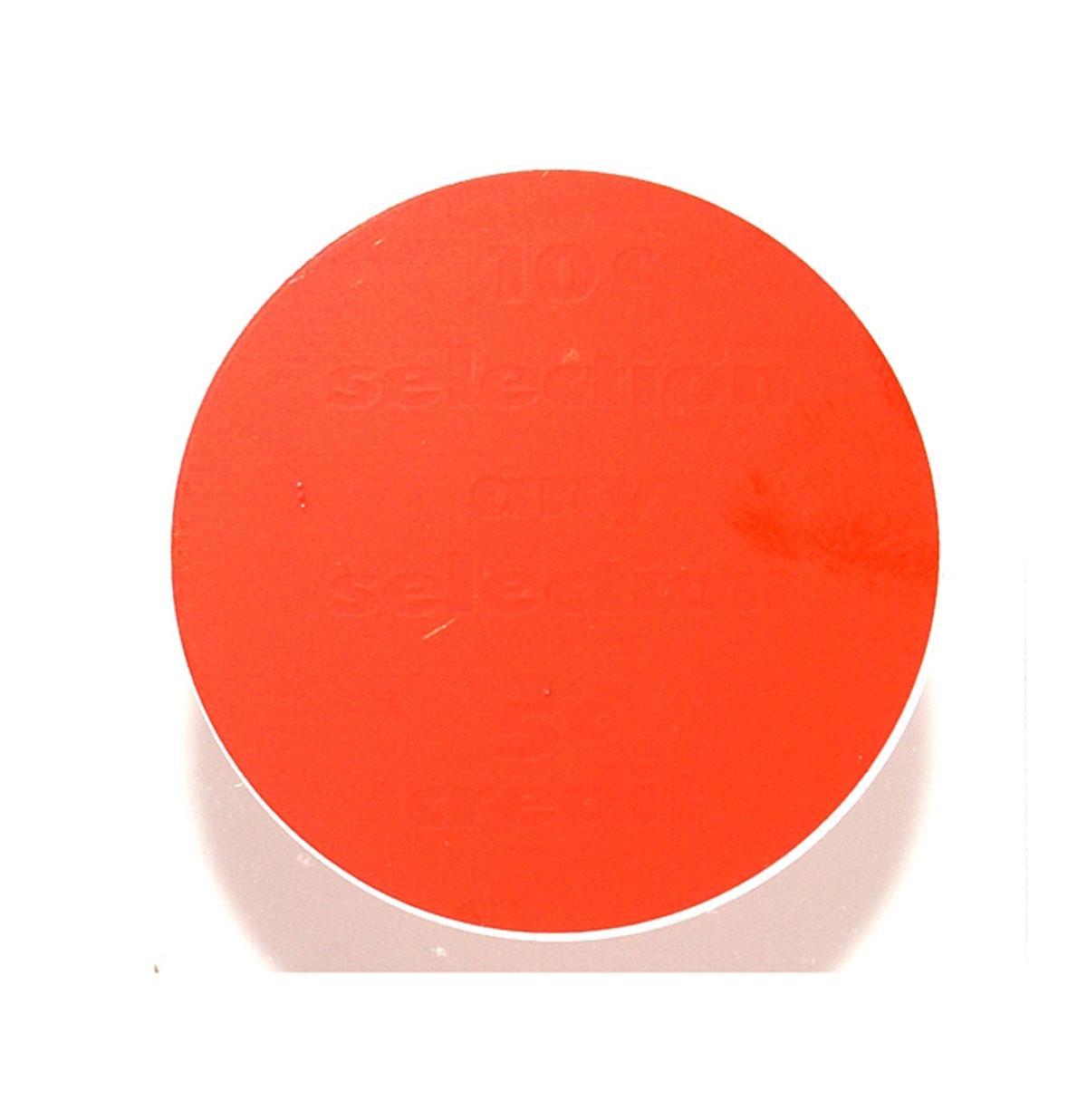 Ami Coin Classificatie Kaart Rood Model Continental 2 - Plastic