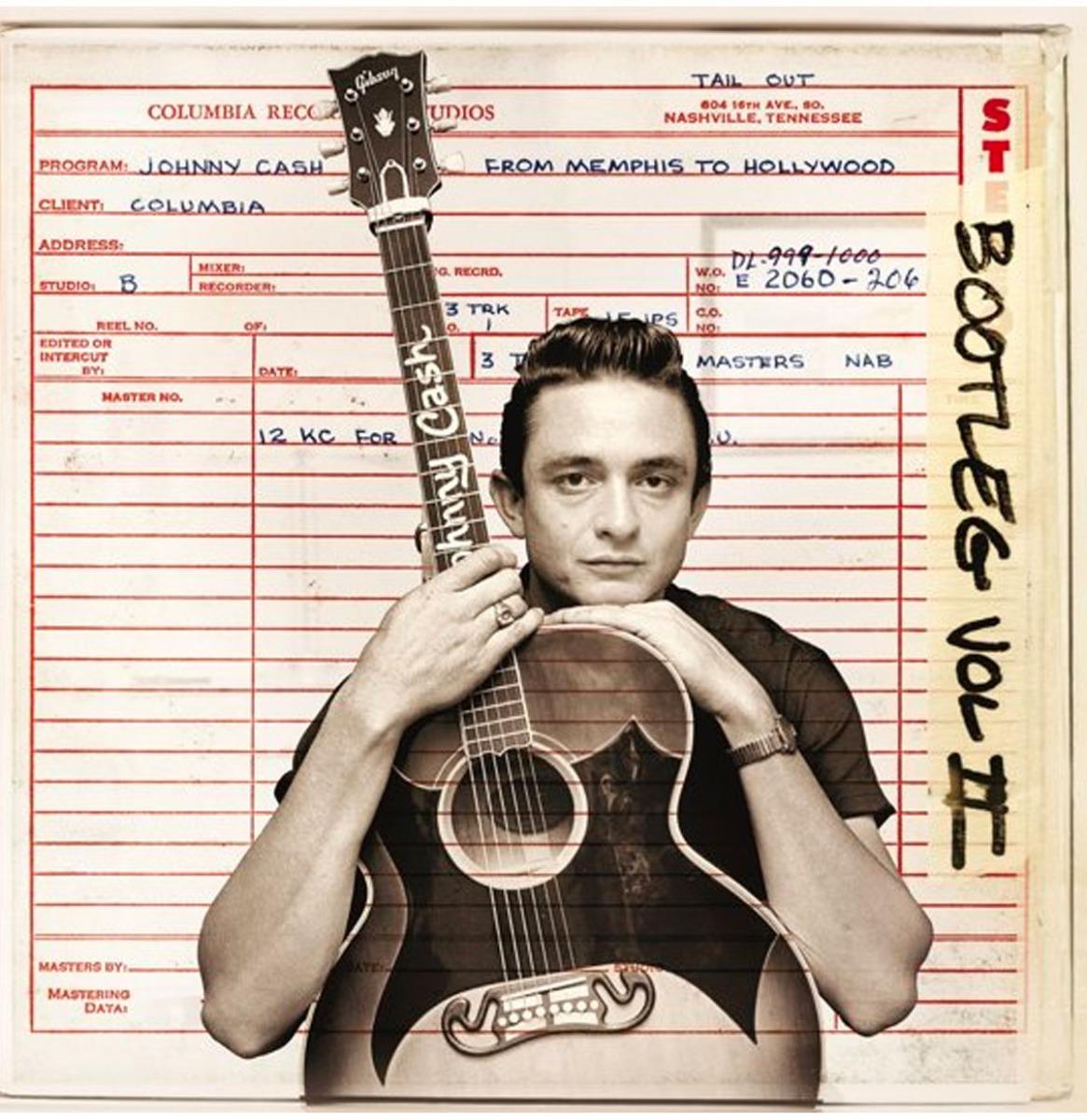 Johnny Cash - Personal File - Bootleg vol. 2 - Gelimiteerde Editie Op Transparant Vinyl