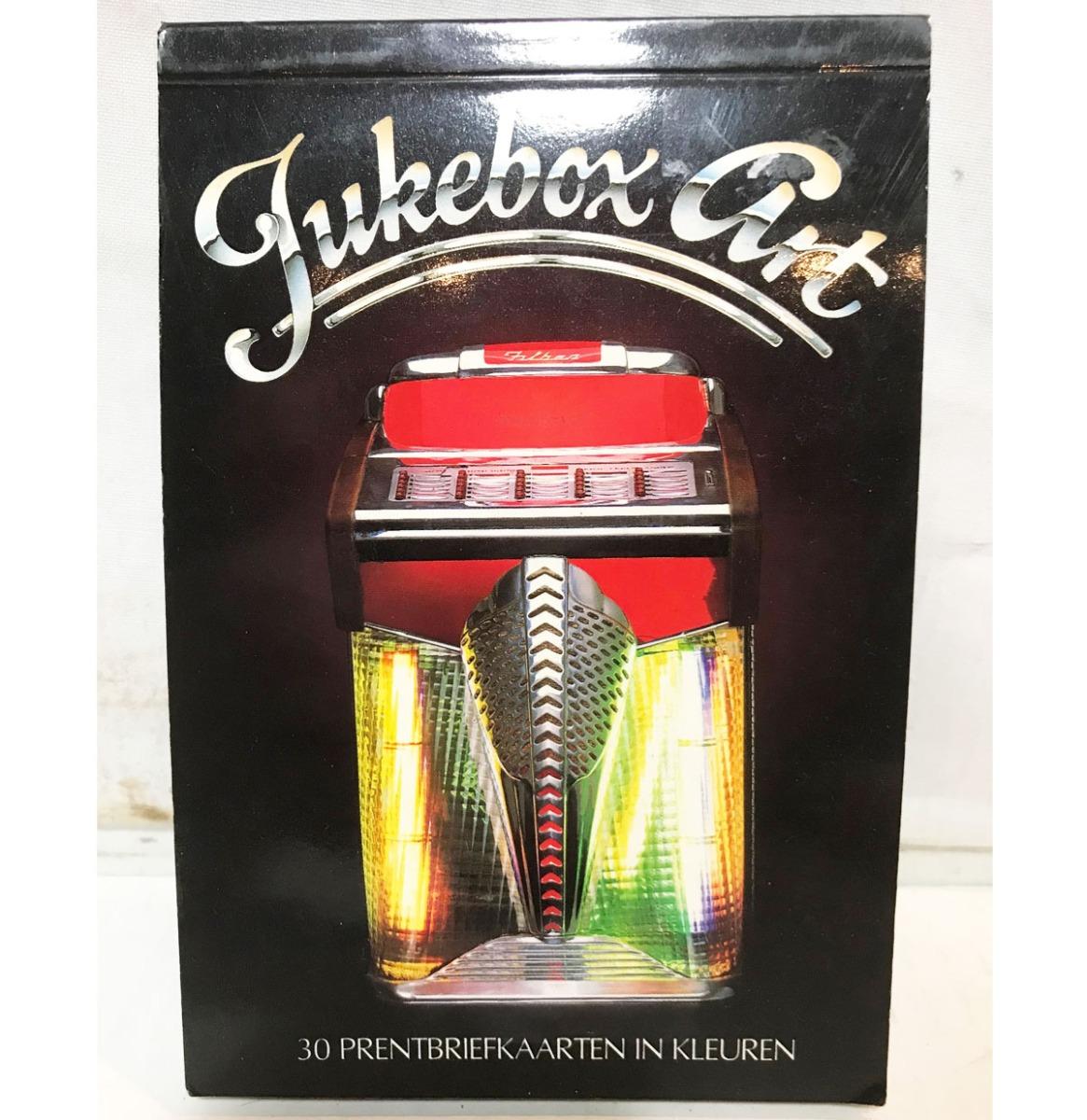 Jukebox Art 30 Postkaarten In Een Boekje